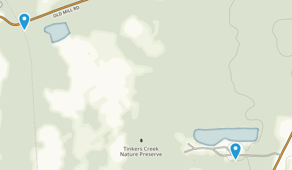 Tinkers Creek State Park Map