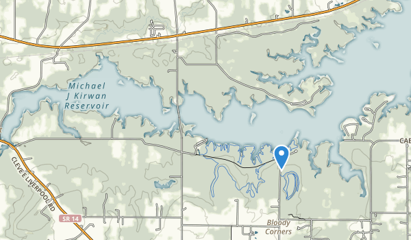 West Branch State Park Map