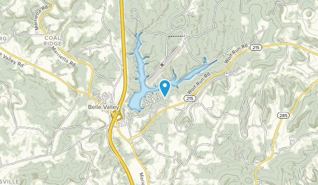 Wolf Run State Park Map