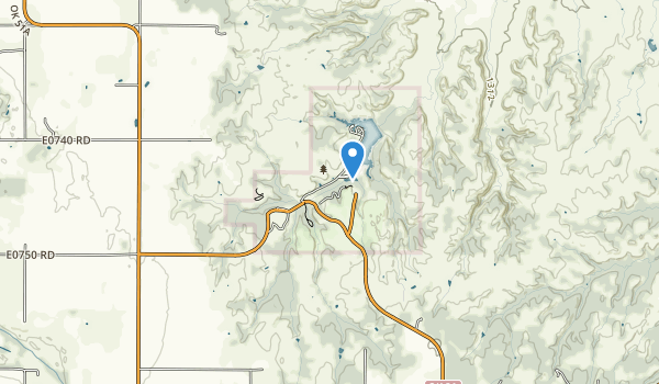 trail locations for Roman Nose State Park