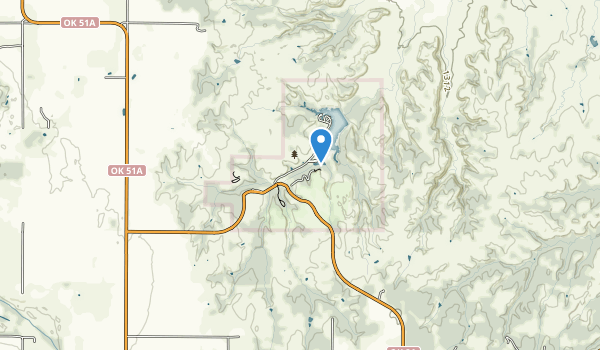 Roman Nose State Park Map