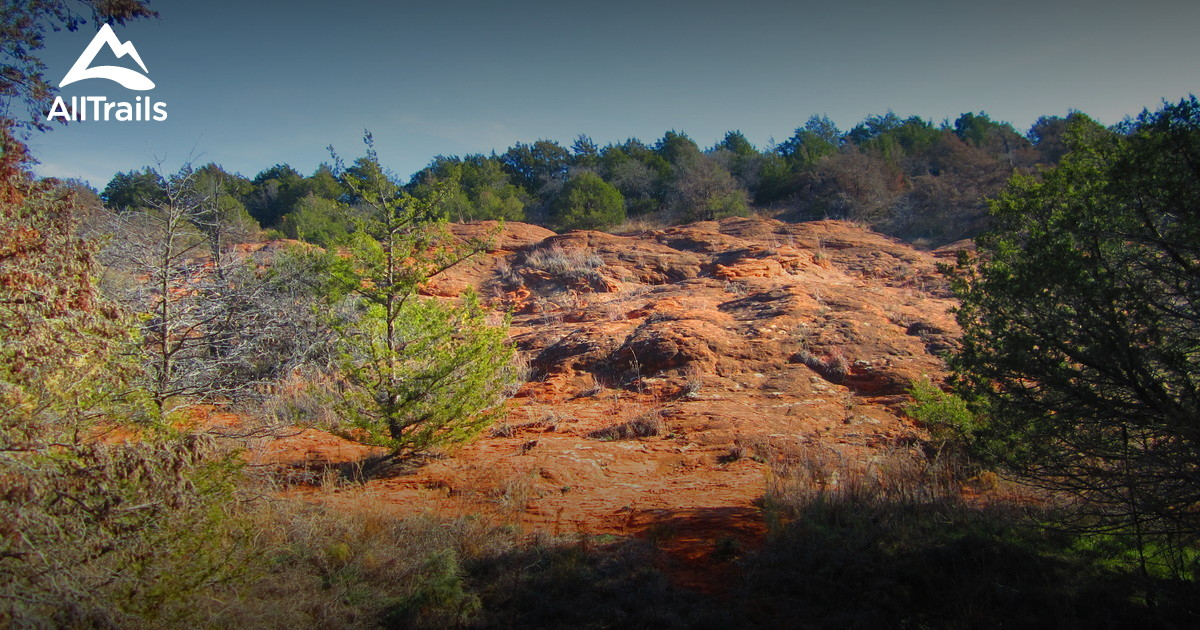 Best Trails In Red Rock Canyon State Park Oklahoma 131