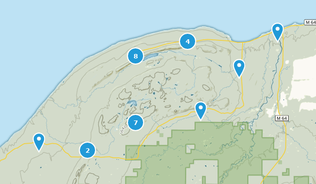 Best Trails in Porcupine Mountains Wilderness State Park ...