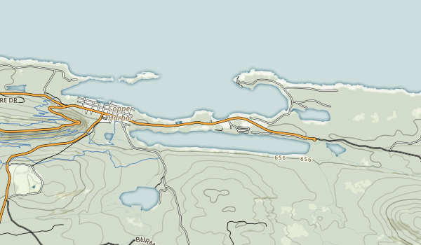 Fort Wilkins Historic State Park Map