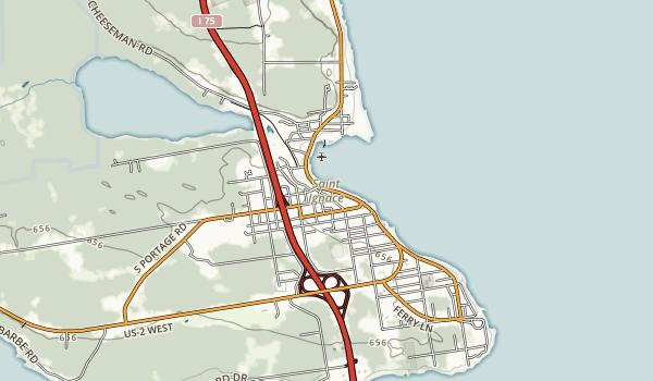 Father Marquette Memorial Scenic Site Map