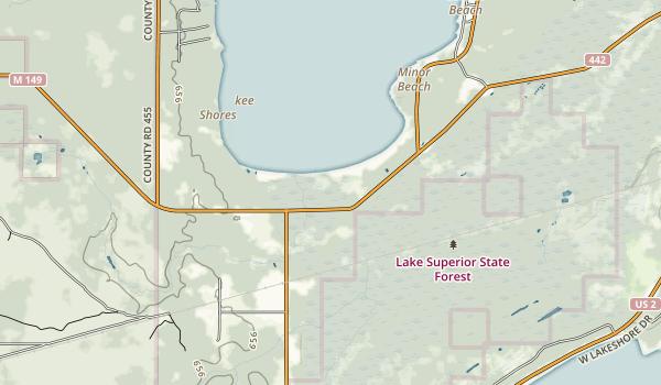Indian Lake State Park Map