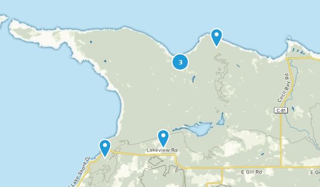 Parque Estatal Wilderness Map