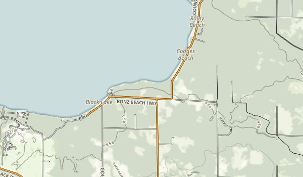 Onaway State Park Map