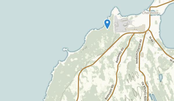 Fisherman's Island State Park Map