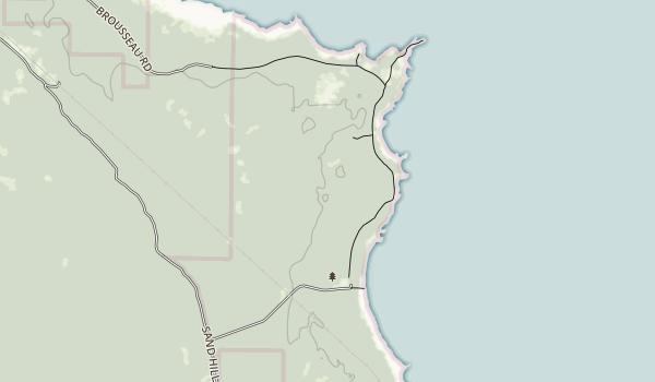 Negwegon State Park Map