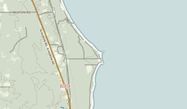 Sturgeon Point Scenic Site Map