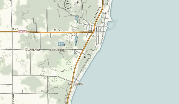Harrisville State Park Map