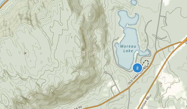 Moreau Lake State Park Map
