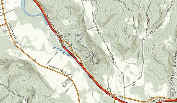 Newtown Battlefield State Park Map