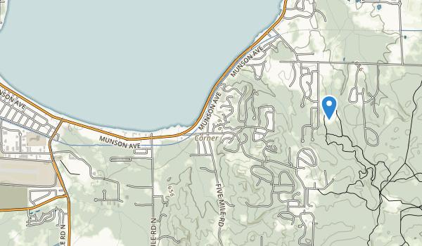 Traverse City State Park Map