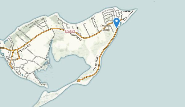 Orient Beach State Park Map