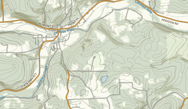 Pinnacle State Park and Golf Course Map