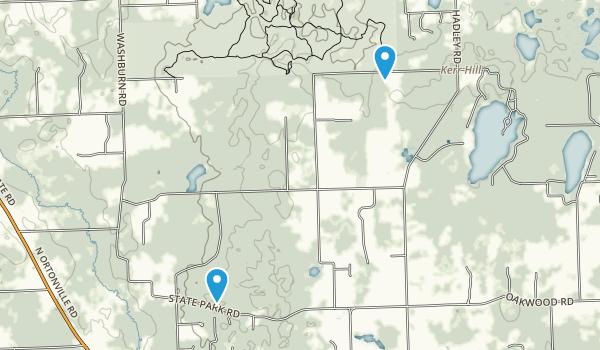 Ortonville Recreation Area Map