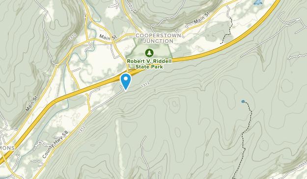 Robert V. Riddell State Park Map