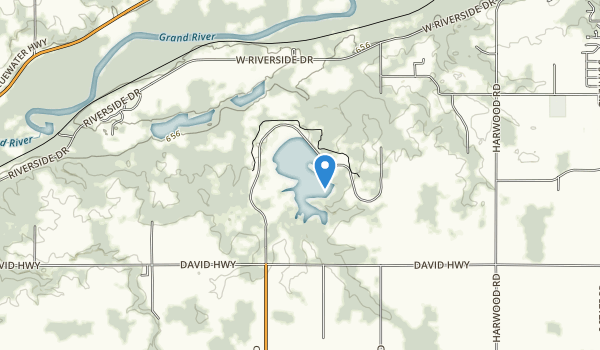 Ionia State Recreation Area Map
