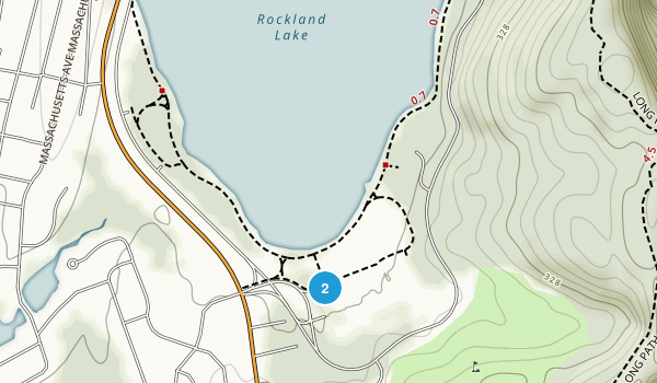 Rockland Lake State Park Map