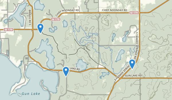 Yankee Springs Recreation Area Map