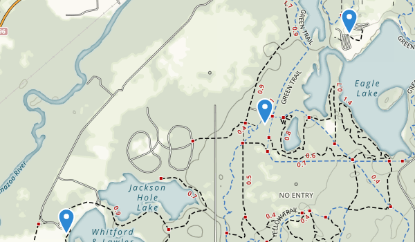 Fort Custer Recreation Area Map