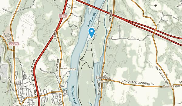 Schodack Island State Park Map