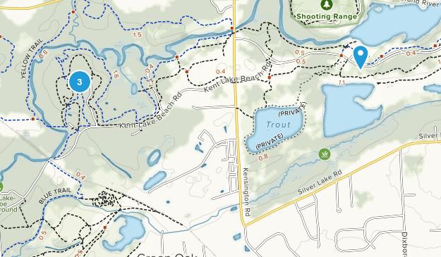 Island Lake Recreation Area Map