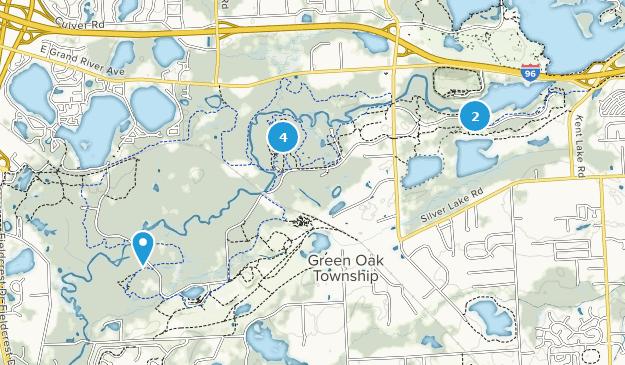Island Lake Erholungsgebiet Map