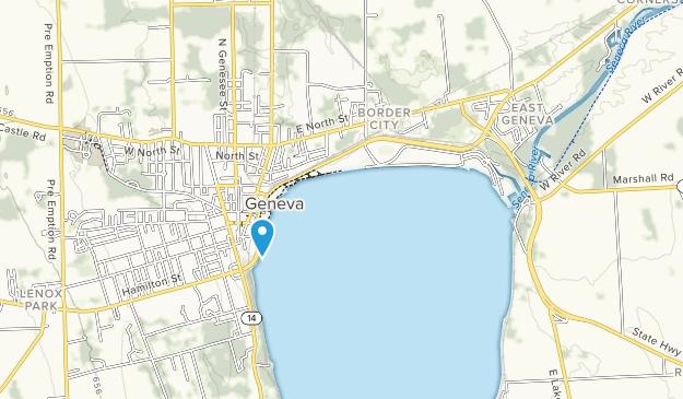 Seneca Lake State Park Map