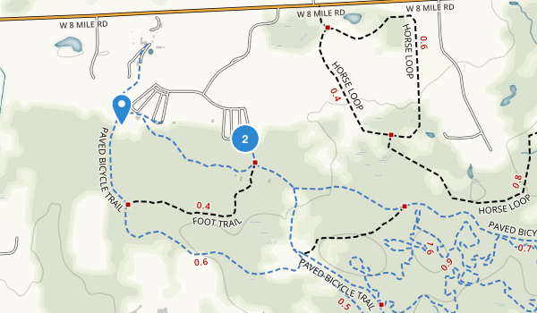 Maybury State Park Map