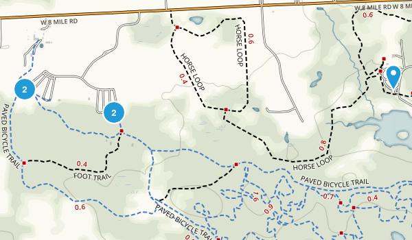 Maybury State Park Map