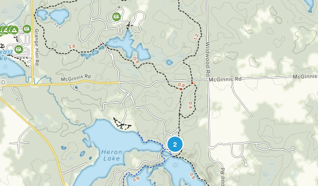 Holly Recreation Area Map