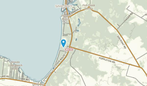 Verona Beach State Park Map