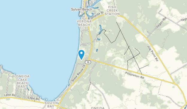 Parque Estatal Verona Beach Map