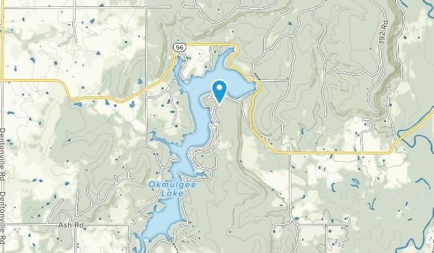 Okmulgee State Park Map