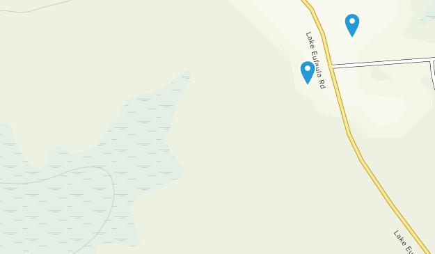Lake Eufaula State Park Map