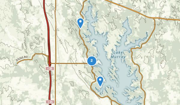 Lake Murray State Park & Lodge Map