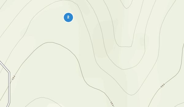 trail locations for Heavener Runestone State Park