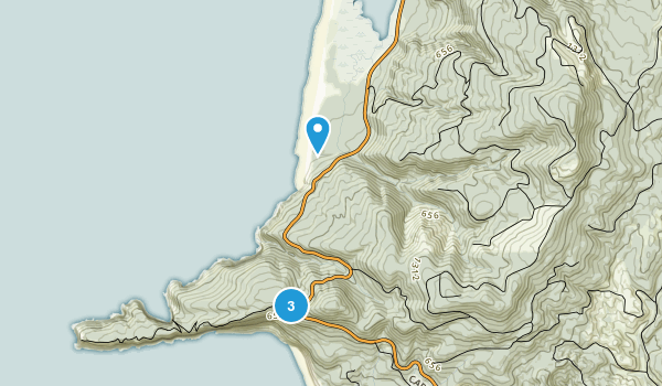 Cape Lookout State Park Map