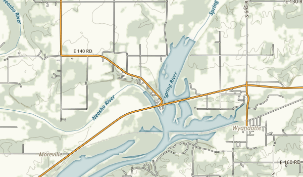 Twin Bridges State Park Map