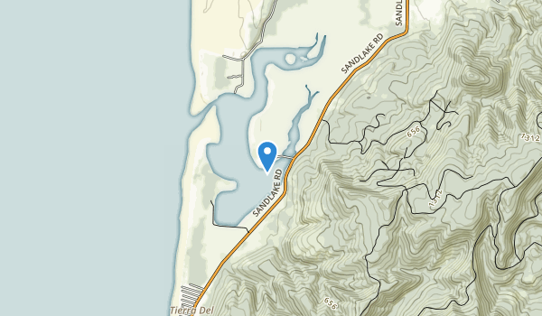 Clay Myers State Natural Area at Whalen Island Map
