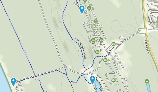 Fort Stevens State Park Map Best Trails in Fort Stevens State Park   Oregon | AllTrails