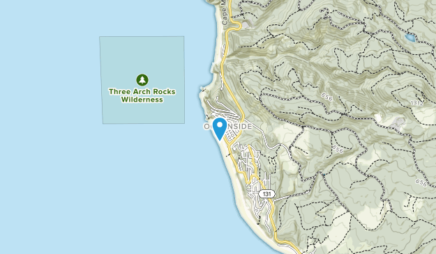 Oceanside Beach State Recreation Site Map