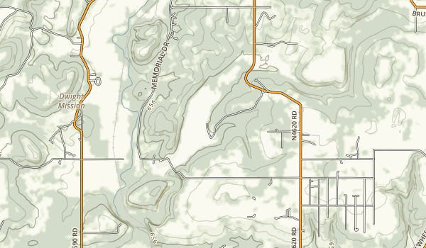 Brushy Lake State Park Map