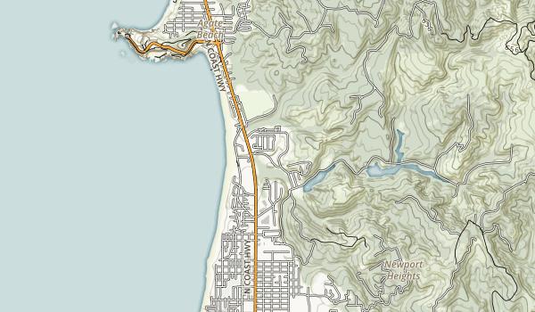 Agate Beach State Recreation Site Map