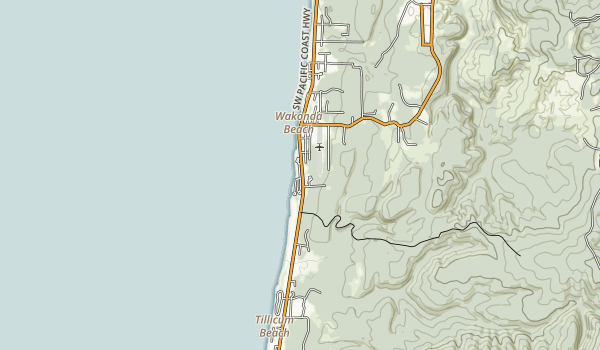 Beachside State Recreation Site Map
