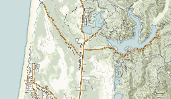 Darlingtonia State Natural Site Map