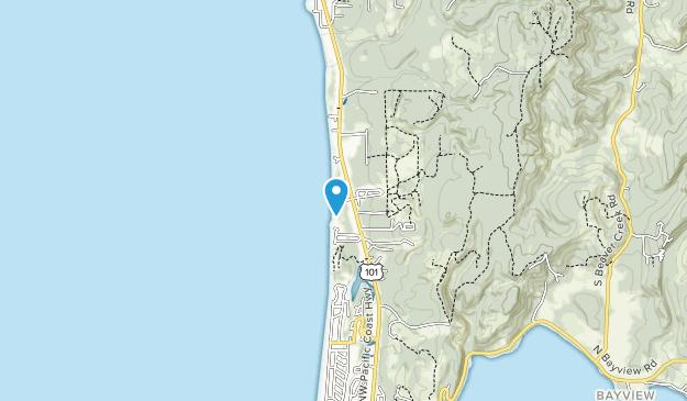 Driftwood Beach State Recreation Site Map